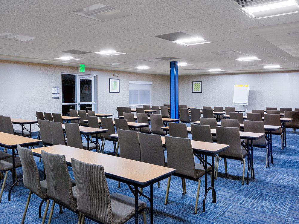 Meeting room, SMART breakfast, IHG hotel, Oroville California hotel, corporate, travel, lodging